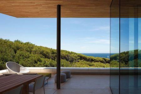 vue sur mer depuis terrasse - Alon House par AABE et Partners -France