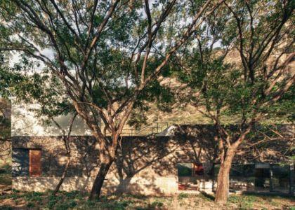 vue terrasse toit - Casa-Meztitla par EDAA - Tepoztlan, Mexique