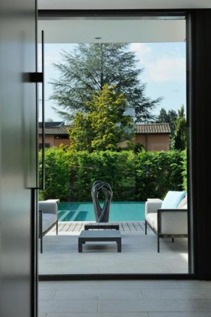 vue vers extérieur - Villa Wa par Laurent GUILLAUD - France