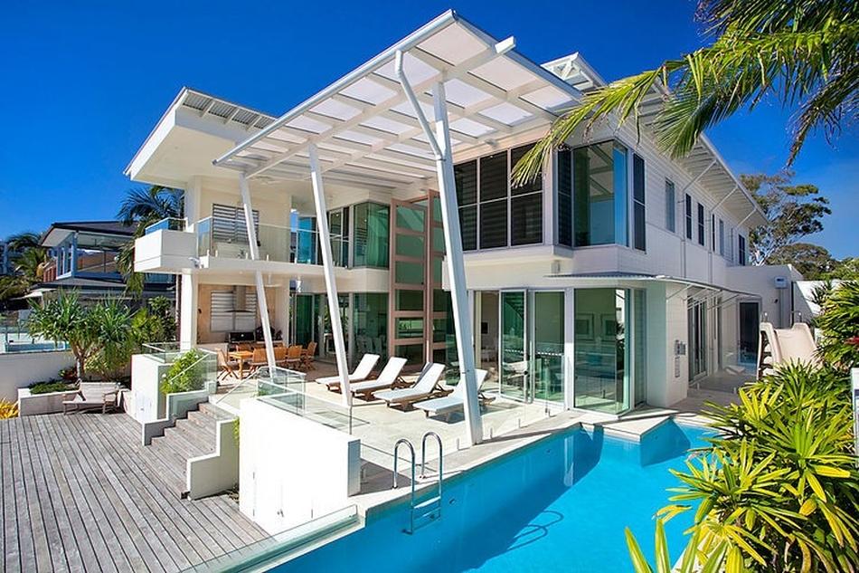 Noosa Holiday Home Par Carole Tretheway Design Noosa