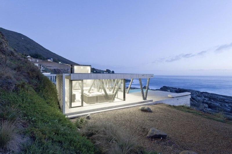 Rambla house par land arquitectos zapallar chili construire tendance - Maison s par domenack arquitectos ...