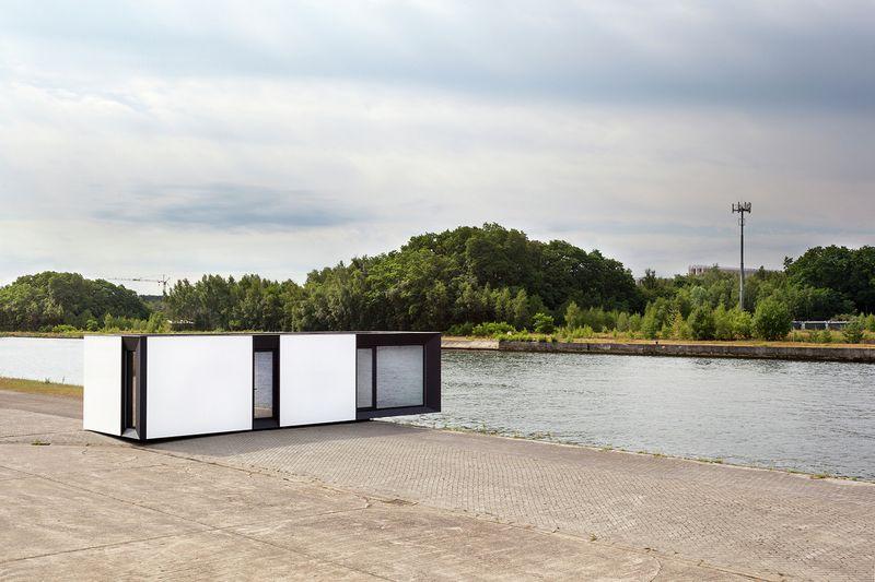 Conception Modulaire Pour Des Maisons Bois Prefabriquees En Belgique