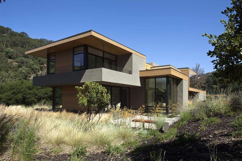 Bi ton osez une touche de couleurs sur votre maison for Rural home designs