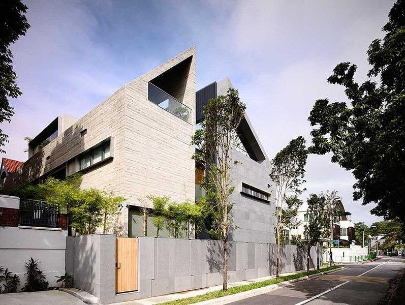 66mrn house par ong ong singapour construire tendance - La demeure moderne gb house par mmeb architects ...