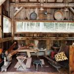 cuisine - cabane en bois écologique - Yulan - USA - Craig Petrasek