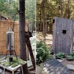commodités -cabane en bois écologique - Yulan - USA - Craig Petrasek