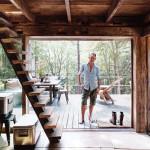 terrasse - cabane en bois écologique - Yulan - USA - Craig Petrasek
