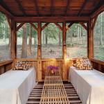 chambre vitrée - cabane en bois écologique - Yulan - USA - Craig Petrasek