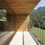 baie vitrée et terrasse - rénovation - maison traditionnelle - El Bosquet  - espagne - photos Aleix Bagué