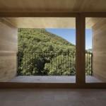 baie vitrée intérieur - rénovation - maison traditionnelle - El Bosquet  - espagne - photos Aleix Bagué