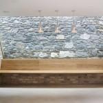banc en bois - Ranelagh House - ODKM Architect - Dublin - Irlande