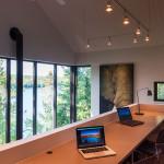 bureau - maison bois - Anik Pelockuin - Messines - Canada