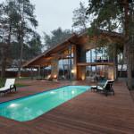piscine terrasse - Chalet 2.0 par YOD-Design Lab