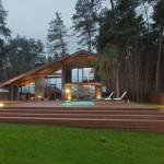 vue terrasse - Chalet 2.0 par YOD-Design Lab