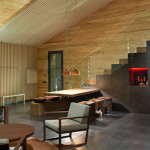 Escalier et Séjour - Chalet 2.0 par YOD-Design Lab