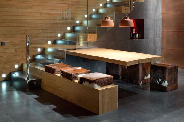 Chalet 2 0 entre pierre et bois par yod design lab poltava russie construire tendance - The dancing chalet ...
