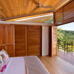 chambre ouverte vers l'exterieur - benjamin garcia saxe - maison sur pilotis - costarica
