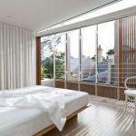 chambre - Surélévation - Balmain-Houses-Benn et Penna - Australie