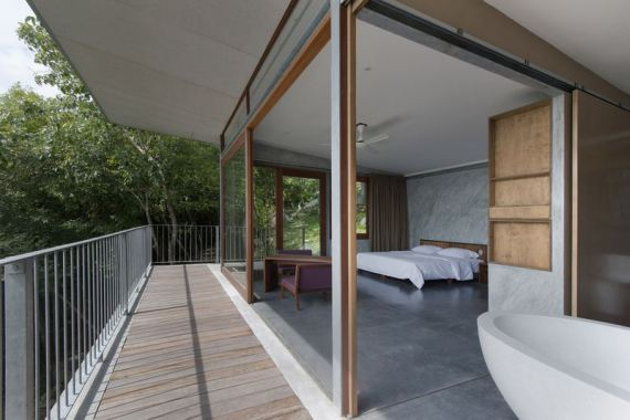 chambre - the-naked-house - marc gerritsen - thaïlande