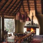 Cheminée - Réserve Leobo - Rech et Cartens Architects - Afrique du Sud