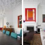 Cheminée salon - Honiton Residence - MCK Architects - Australie