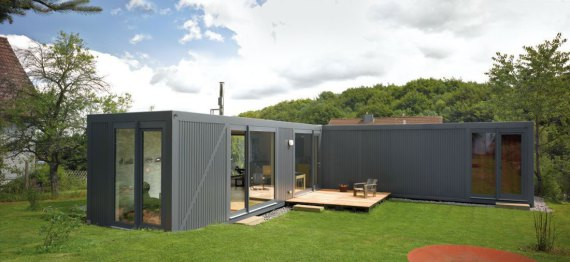 Container love par lhvh architekten kall en allemagne for Extension en container