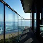 couloir extérieur - Bluewave- F2 architecture - Australie