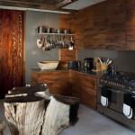 Cuisine  - Réserve Leobo - Rech et Cartens Architects - Afrique du Sud