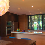 cuisine - maison bois - Anik Pelockuin - Messines - Canada