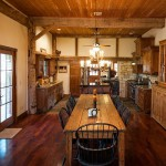 Cuisine rustique - Rénovation Maison - Barn Heritage - Fultonville - USA