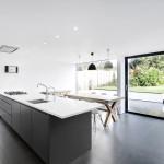 cuisine et séjour - Maison Medic - AR Design Studio