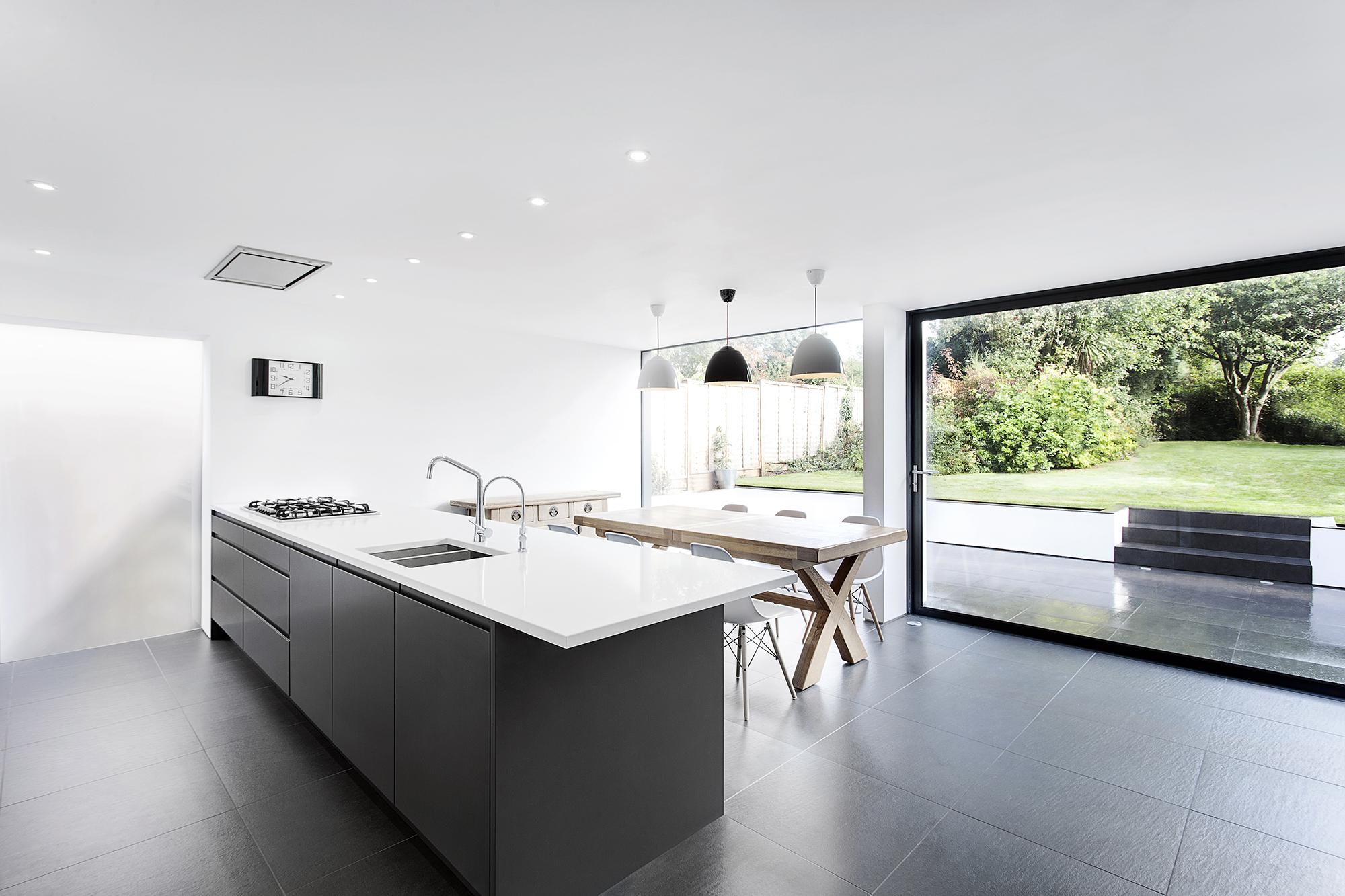 Extension Maison Design #6: Cuisine Et Séjour - Maison Medic - AR Design Studio
