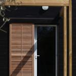 Entrée - Maison Bois - Patrice Bideau - St Goustan - France