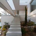 escalier béton - Domaine des Vautes - Frédérick Jauvion - Montpellier - France