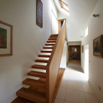 escalier en bois - Rénovation - Bogbain Mill - Design rural - Ecosse