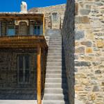 escalier en pierre - Eagles-Nest- Sinas Architects -Serifos - Grèce - Nikos Stefani