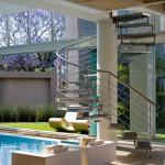 Escalier extérieur - Glass House par Nico Van Der Meulen Architects à Johannesburg Afrique du Sud
