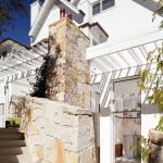 Escalier extérieur - Honiton Residence - MCK Architects - Australie