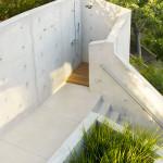 escalier intégrant une douche - Treehouse - Rockefeller Partners Architects - USA