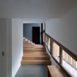 escalier - Villa solaire - Jérémie Kœmpgen - Morzine - France