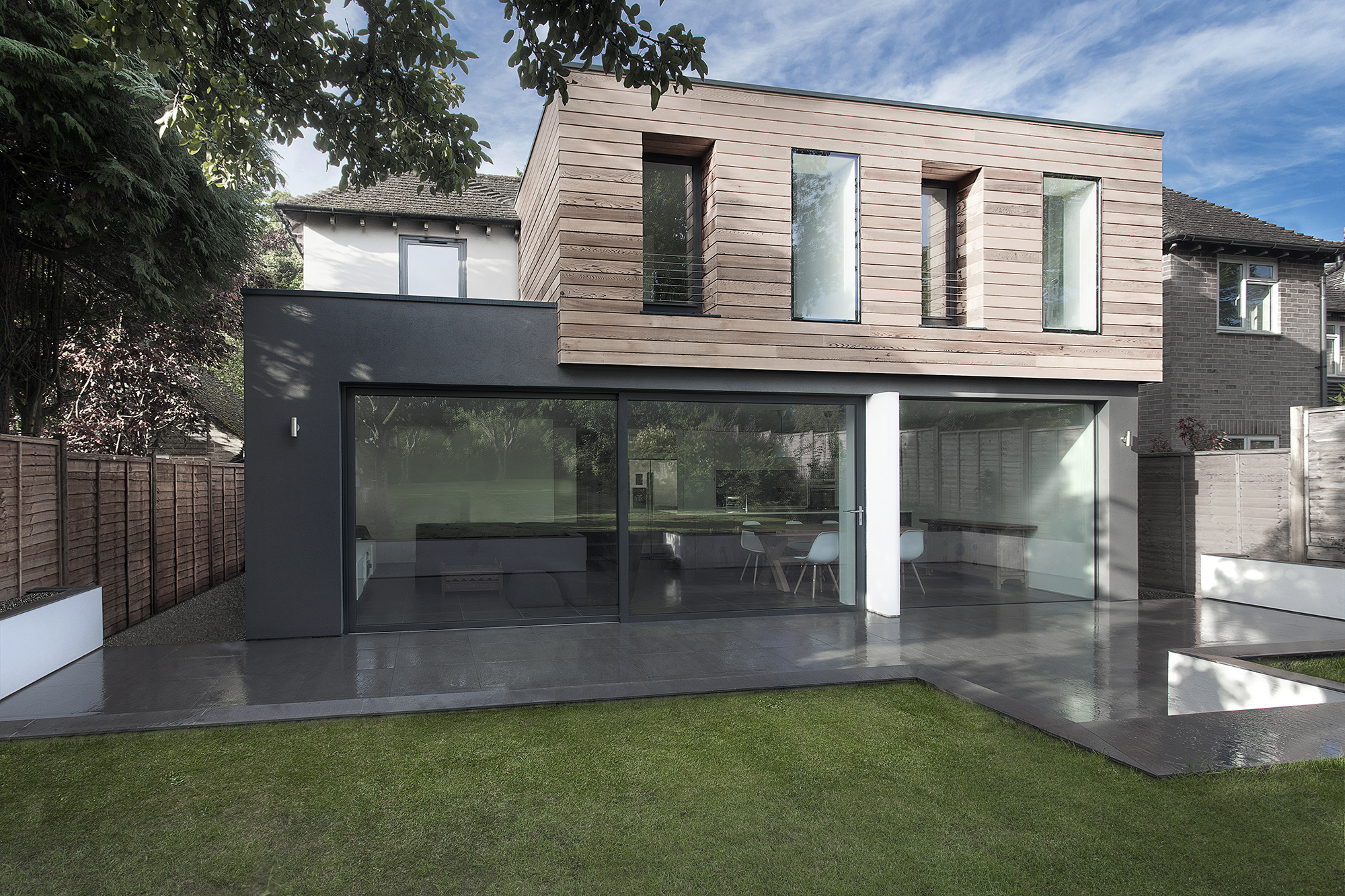 Extension maison medic par ar design studio winchester for Extension de maison