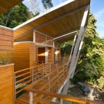 façade arrière - benjamin garcia saxe - maison sur pilotis - costarica