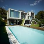 façade arrière - piscine - The Garden House - Joaquín Alvado Bañón - Alicante Espagne