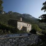 façade arrière - rénovation - maison traditionnelle - El Bosquet  - espagne - photos Aleix Bagué