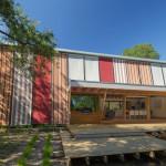 Façade arrière - stores baissés - Somers House March-Studio - Australie