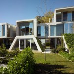 façade arrière - végétation - The Garden House - Joaquín Alvado Bañón - Alicante Espagne