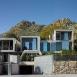façade avant - accès garage - The Garden House - Joaquín Alvado Bañón - Alicante Espagne