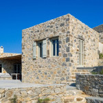 façade avant - Eagles-Nest- Sinas Architects -Serifos - Grèce - Nikos Stefani