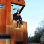 façade en acier - Ranelagh House - ODKM Architect - Dublin - Irlande