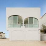 façade Est - garages -Vault House - Johnston-Marklee - USA